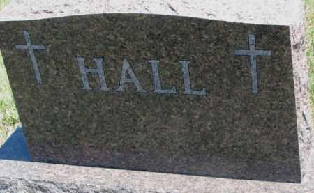 HALL, FAMILY PLOT MARKER - Lyman County, South Dakota | FAMILY PLOT MARKER HALL - South Dakota Gravestone Photos