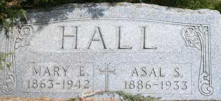HALL, ASAL S - Lyman County, South Dakota | ASAL S HALL - South Dakota Gravestone Photos