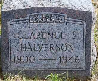 HALVERSON, CLARENCE S - Lyman County, South Dakota | CLARENCE S HALVERSON - South Dakota Gravestone Photos
