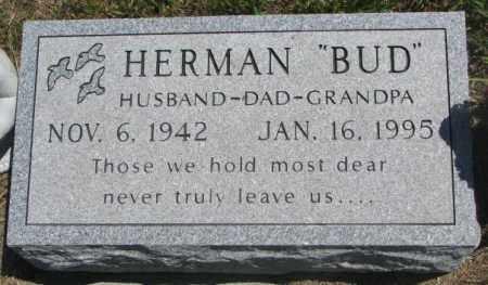 "HENDRICKS, HERMAN ""BUD"" - Lyman County, South Dakota | HERMAN ""BUD"" HENDRICKS - South Dakota Gravestone Photos"