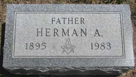 HENDRICKS, HERMAN A. - Lyman County, South Dakota | HERMAN A. HENDRICKS - South Dakota Gravestone Photos