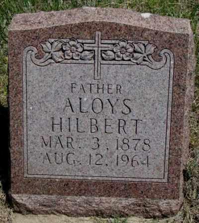 HILBERT, ALOYS - Lyman County, South Dakota | ALOYS HILBERT - South Dakota Gravestone Photos