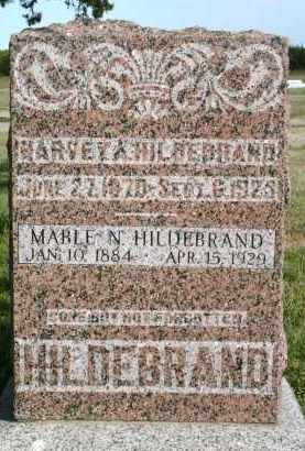 HILDEBRAND, HARVEY A - Lyman County, South Dakota | HARVEY A HILDEBRAND - South Dakota Gravestone Photos