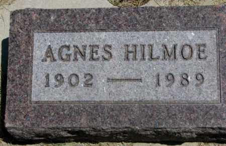 HILMOE, AGNES - Lyman County, South Dakota | AGNES HILMOE - South Dakota Gravestone Photos
