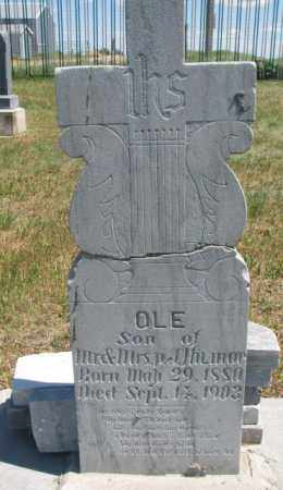 HILMOE, OLE - Lyman County, South Dakota | OLE HILMOE - South Dakota Gravestone Photos