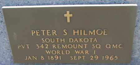 HILMOE, PETER S. - Lyman County, South Dakota | PETER S. HILMOE - South Dakota Gravestone Photos