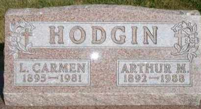 HODGIN, L CARMEN - Lyman County, South Dakota | L CARMEN HODGIN - South Dakota Gravestone Photos