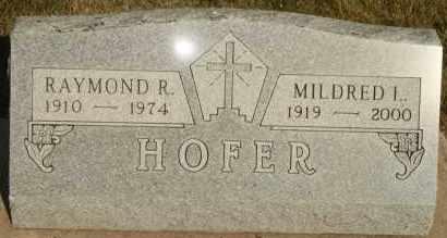 HOFER, MILDRED L - Lyman County, South Dakota | MILDRED L HOFER - South Dakota Gravestone Photos