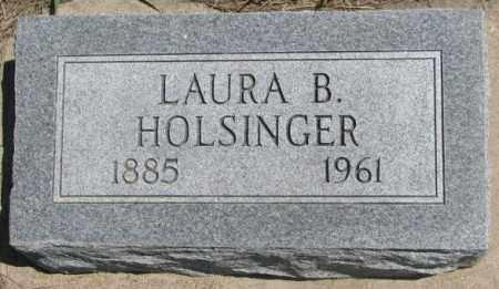 HOLSINGER, LAURA B. - Lyman County, South Dakota | LAURA B. HOLSINGER - South Dakota Gravestone Photos