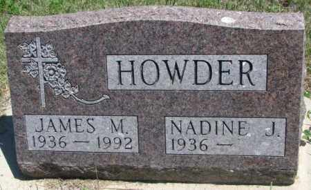 HOWDER, JAMES M. - Lyman County, South Dakota | JAMES M. HOWDER - South Dakota Gravestone Photos