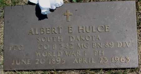 HULCE, ALBERT E. (WW I) - Lyman County, South Dakota | ALBERT E. (WW I) HULCE - South Dakota Gravestone Photos