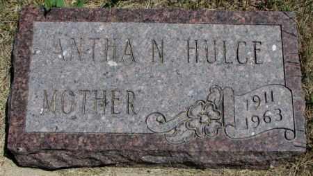 HULCE, ANTHA N. - Lyman County, South Dakota | ANTHA N. HULCE - South Dakota Gravestone Photos
