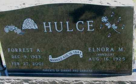 HANSLER HULCE, ELNORA M. - Lyman County, South Dakota | ELNORA M. HANSLER HULCE - South Dakota Gravestone Photos