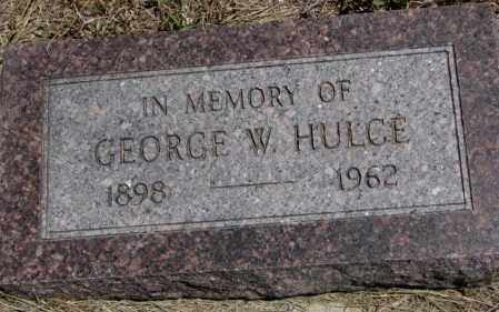 HULCE, GEORGE W. - Lyman County, South Dakota | GEORGE W. HULCE - South Dakota Gravestone Photos