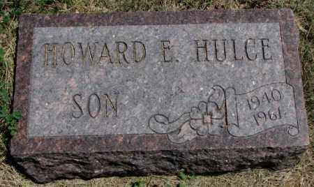 HULCE, HOWARD E. - Lyman County, South Dakota | HOWARD E. HULCE - South Dakota Gravestone Photos