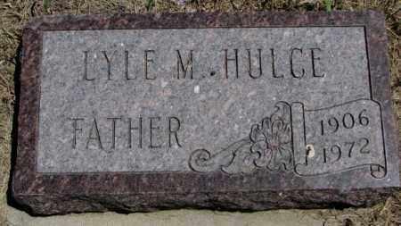 HULCE, LYLE M. - Lyman County, South Dakota   LYLE M. HULCE - South Dakota Gravestone Photos