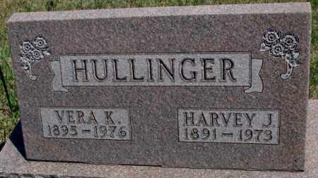 HULLINGER, VERA K. - Lyman County, South Dakota | VERA K. HULLINGER - South Dakota Gravestone Photos