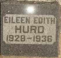 HURD, EILEEN EDITH - Lyman County, South Dakota | EILEEN EDITH HURD - South Dakota Gravestone Photos