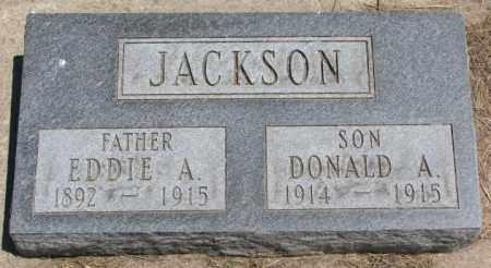 JACKSON, EDDIE A. - Lyman County, South Dakota | EDDIE A. JACKSON - South Dakota Gravestone Photos