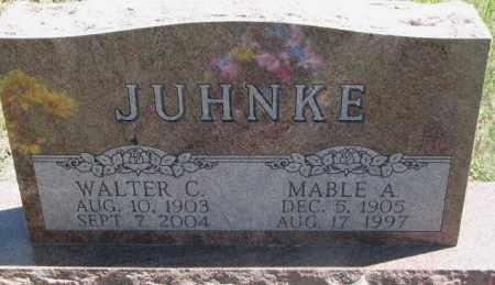 JUHNKE, WALTER C. - Lyman County, South Dakota | WALTER C. JUHNKE - South Dakota Gravestone Photos