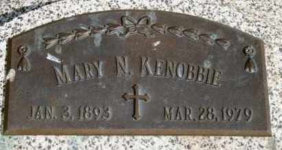 KENOBBIE, MARY N - Lyman County, South Dakota | MARY N KENOBBIE - South Dakota Gravestone Photos