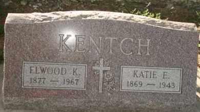 KENTCH, KATIE E - Lyman County, South Dakota | KATIE E KENTCH - South Dakota Gravestone Photos
