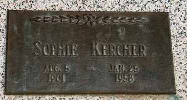 KERCHER, SOPHIE - Lyman County, South Dakota | SOPHIE KERCHER - South Dakota Gravestone Photos