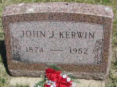 KERWIN, JOHN J. - Lyman County, South Dakota | JOHN J. KERWIN - South Dakota Gravestone Photos