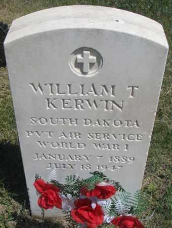 KERWIN, WILLIAM T. - Lyman County, South Dakota | WILLIAM T. KERWIN - South Dakota Gravestone Photos