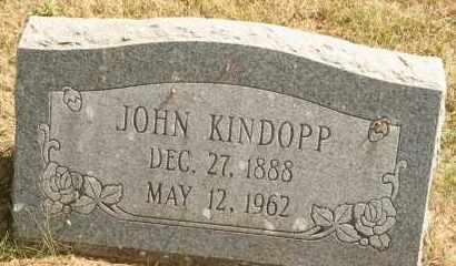 KINDOPP, JOHN - Lyman County, South Dakota | JOHN KINDOPP - South Dakota Gravestone Photos