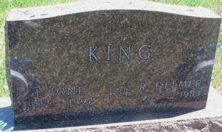 KING, L. IONE - Lyman County, South Dakota | L. IONE KING - South Dakota Gravestone Photos