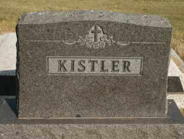 KISTLER, FAMILY - Lyman County, South Dakota | FAMILY KISTLER - South Dakota Gravestone Photos
