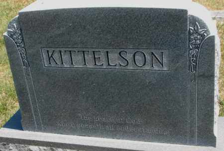 KITTELSON, FAMILY PLOT MARKER - Lyman County, South Dakota | FAMILY PLOT MARKER KITTELSON - South Dakota Gravestone Photos