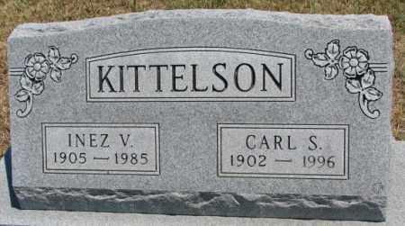 KITTELSON, INEZ V. - Lyman County, South Dakota | INEZ V. KITTELSON - South Dakota Gravestone Photos
