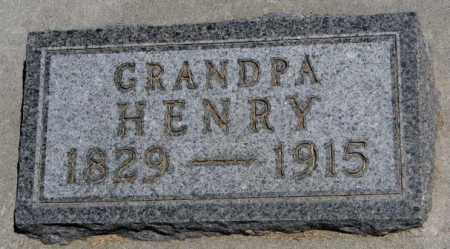 LANTZ, HENRY - Lyman County, South Dakota | HENRY LANTZ - South Dakota Gravestone Photos