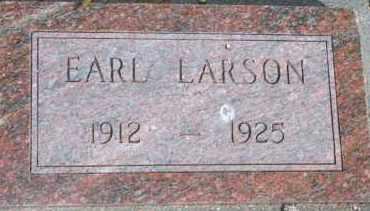 LARSON, EARL - Lyman County, South Dakota | EARL LARSON - South Dakota Gravestone Photos