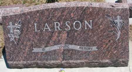 LARSON, MELVIN & RUTH - Lyman County, South Dakota | MELVIN & RUTH LARSON - South Dakota Gravestone Photos