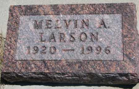 LARSON, MELVIN A. - Lyman County, South Dakota   MELVIN A. LARSON - South Dakota Gravestone Photos