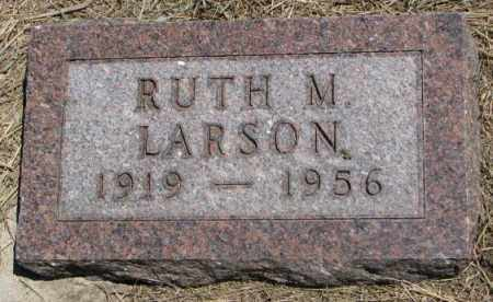 LARSON, RUTH M. - Lyman County, South Dakota | RUTH M. LARSON - South Dakota Gravestone Photos