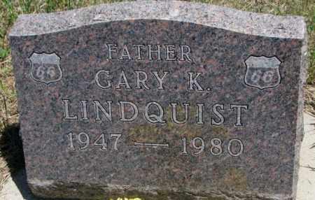 LINDQUIST, GARY K. - Lyman County, South Dakota | GARY K. LINDQUIST - South Dakota Gravestone Photos