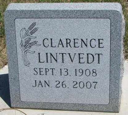 LINTVEDT, CLARENCE - Lyman County, South Dakota | CLARENCE LINTVEDT - South Dakota Gravestone Photos