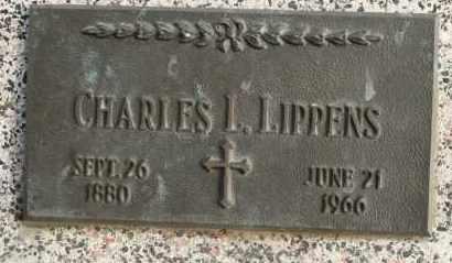LIPPENS, CHARLES L - Lyman County, South Dakota   CHARLES L LIPPENS - South Dakota Gravestone Photos