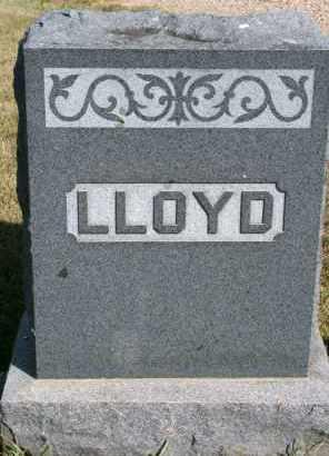 LLOYD, FAMILY - Lyman County, South Dakota   FAMILY LLOYD - South Dakota Gravestone Photos