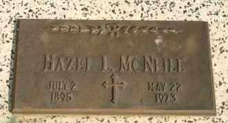 MCNEILL, HAZEL L - Lyman County, South Dakota | HAZEL L MCNEILL - South Dakota Gravestone Photos