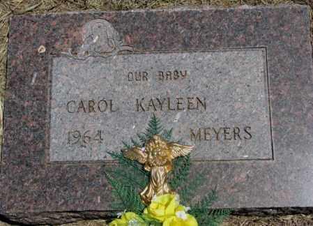 MEYERS, CAROL KAYLEEN - Lyman County, South Dakota | CAROL KAYLEEN MEYERS - South Dakota Gravestone Photos