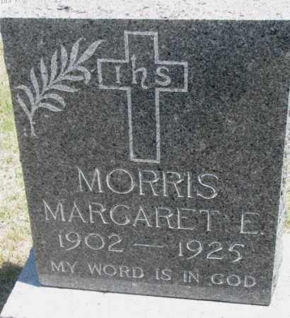 MORRIS, MARGARET E. - Lyman County, South Dakota | MARGARET E. MORRIS - South Dakota Gravestone Photos