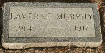 MURPHY, LAVERNE - Lyman County, South Dakota | LAVERNE MURPHY - South Dakota Gravestone Photos