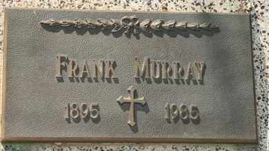 MURRAY, FRANK - Lyman County, South Dakota | FRANK MURRAY - South Dakota Gravestone Photos
