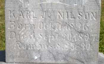 NILSON, KARL J - Lyman County, South Dakota | KARL J NILSON - South Dakota Gravestone Photos