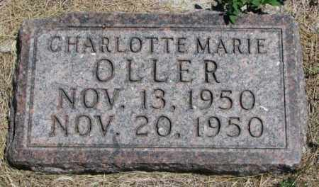 OLLER, CHARLOTTE MARIE - Lyman County, South Dakota | CHARLOTTE MARIE OLLER - South Dakota Gravestone Photos